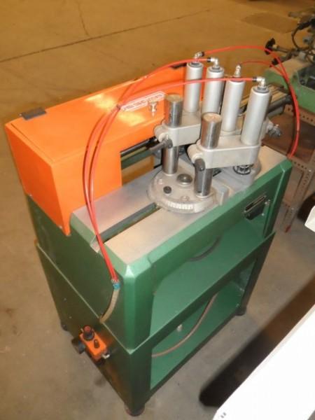 Creasing machine for PVC joinery WEGOMA F126