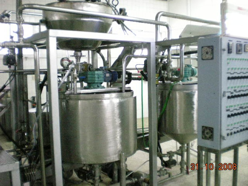 AL0010911-JELLY CANDIES COMPLETE MANUFACTURING LINE