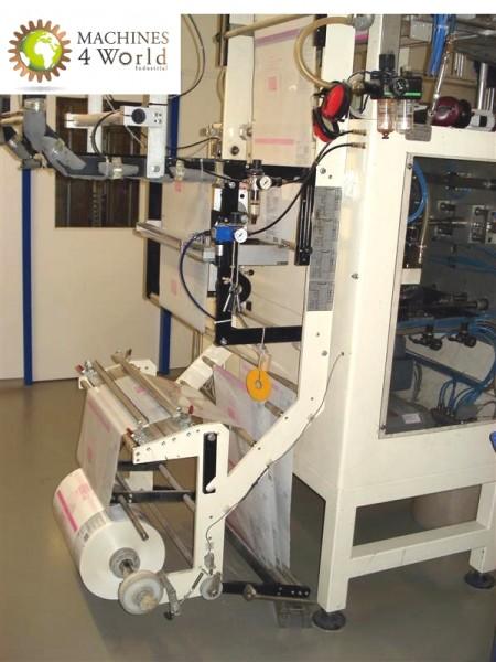 AL00150911- Complete bagging line for stabilo pack, stand up bag + Metal detector + cartoning line