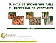 AL0441011- PLANTA DE PRODUCCIÓN PARA EL PROCESADO DE VEGETALES