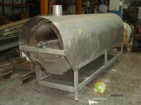 Rotary toaster barrel gas stainless steel