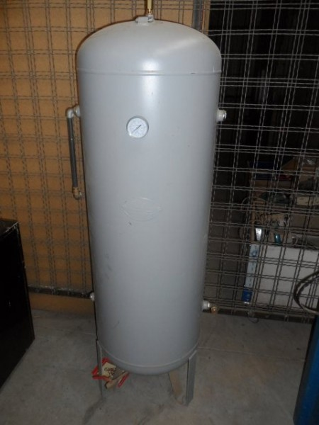 Air tank for compressed air SEA Serbatoi Autoclavi 270 L, 11 Bar