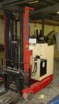 Sit-on reach electric forklift  Nichiyu FBRFW15-SB50-500M