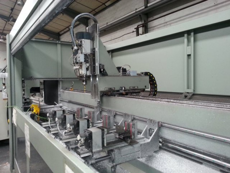 Emmegi 3 axis CNC Phantomatic T4 A machining centre