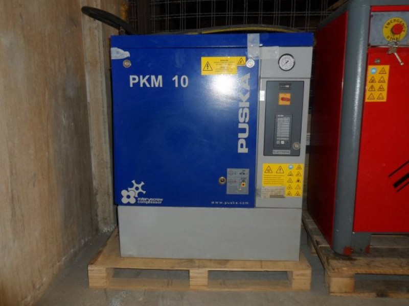 Screw Air Compressor Puska Pkm10 Ba Atlas Copco