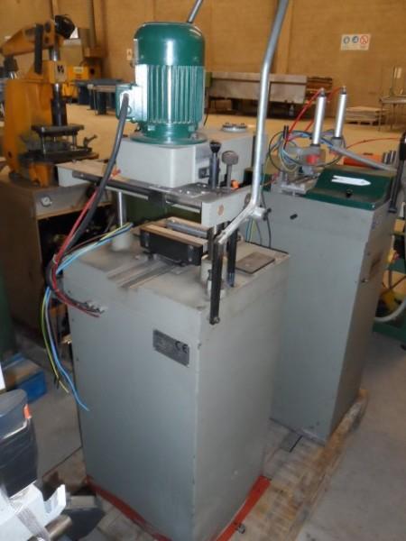 Metal maquinaria para carpinteria de aluminio codmisa c for Carpinteria aluminio