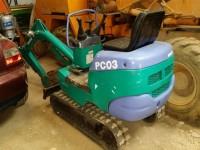 Excavadora compacta Komatsu PC03