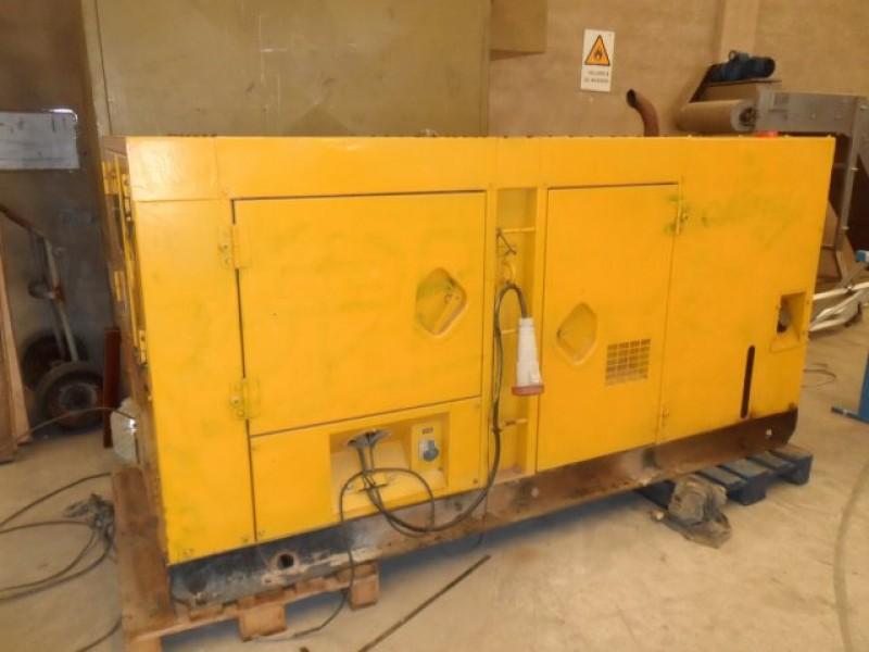 Diesel electric generator Atlas Copco QAS-85