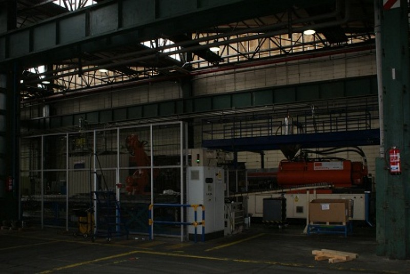 Injection moulding machine Sandretto 1500 ton