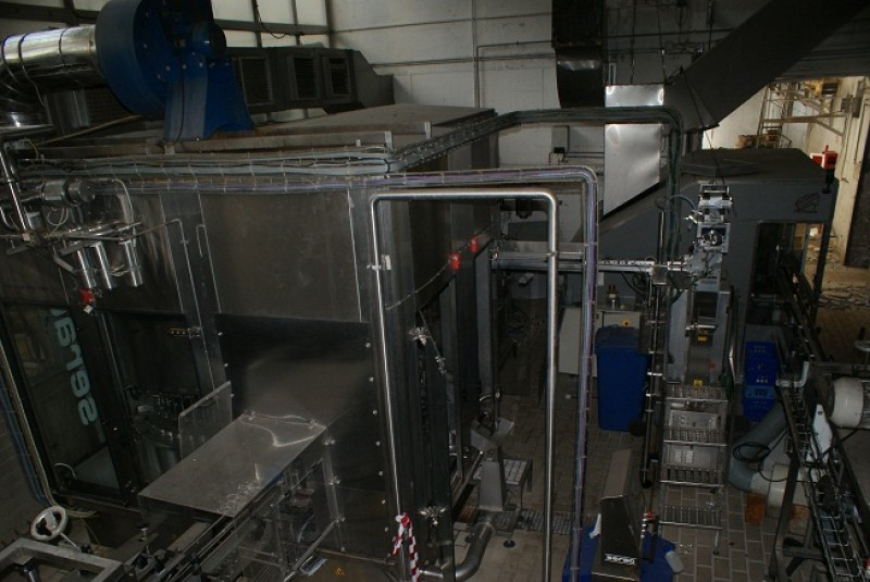 Packaging line formats 1l milk and 1.5 l