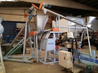 AUTOMATIC SACK FILLING AND SEWING LINE