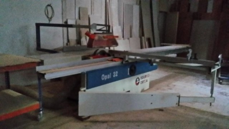 Sliding machine for carpentry Egurko OPAL 32