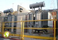 PLANT OF CO-GENERATION WITH GENERATORS DIESEL OF 12 MW