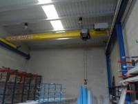 5 Ton Bridge Crane. KONECRANES 2007, 10 m length