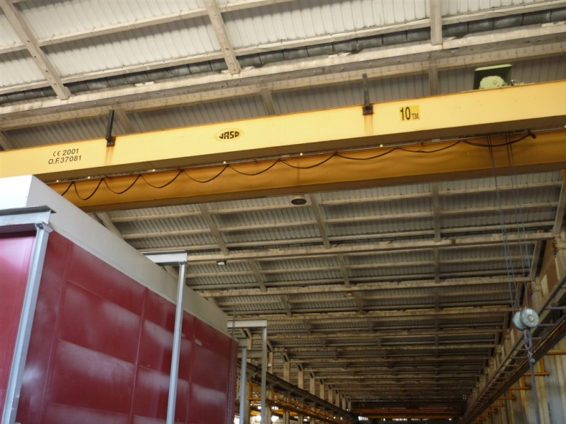 Jaso Overhead Crane for 10 Tons 2001