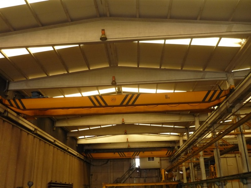 Jaso Overhead Crane for 10 Tons