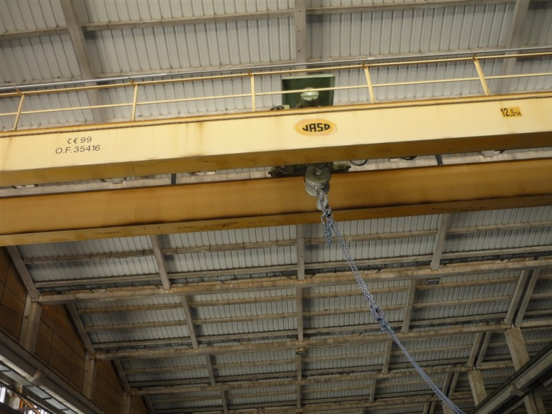 Jaso Overhead Crane for 12,5 Tons