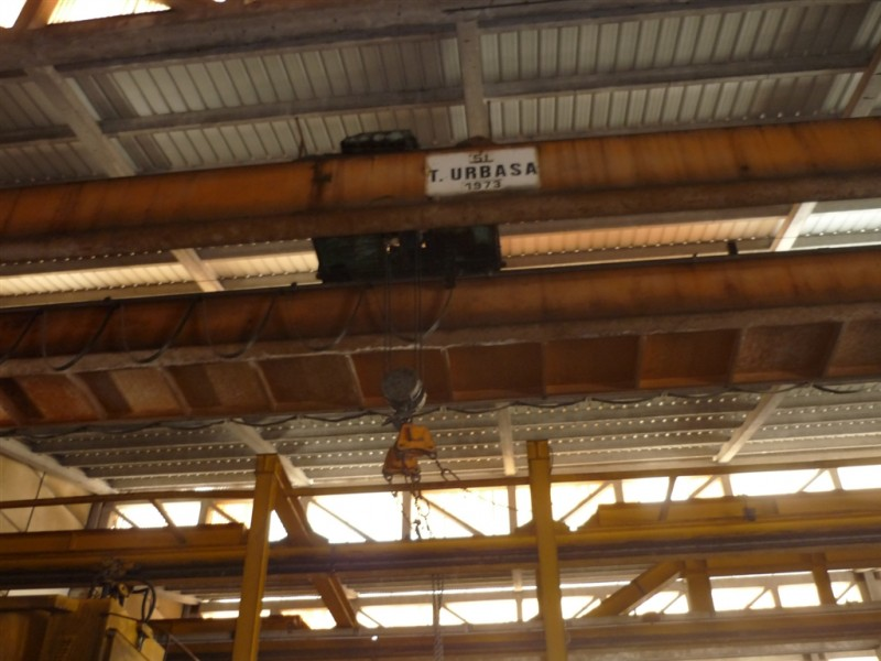URBASA Overhead Crane for 10 Tons