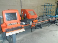 Double head miter saw for metalwork Tekna TK145/15GCNC