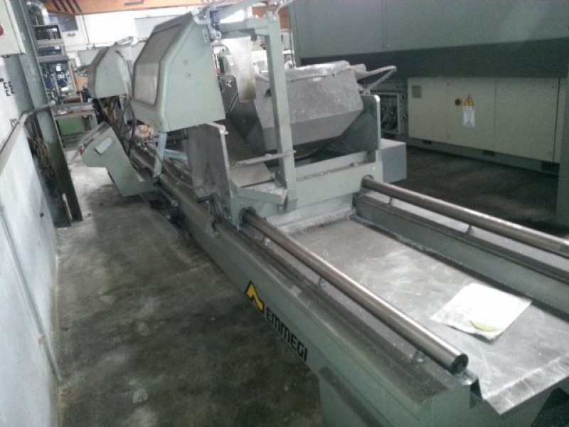 Double head cutting machine for aluminum Emmegi TWIN ELECTRA SUN TU/4
