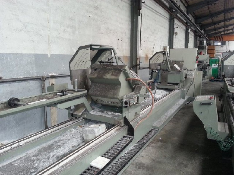 Double head cutting machine for aluminum Emmegi Start Line New 450 TU/5