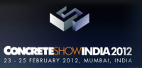 MACHINES4WORLD exposes and presents their company and machines at Concrete show in Mumbai (India)